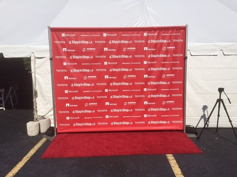 Step & Repeat Banners and Backdrops